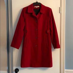 Larry Levine Red Coat